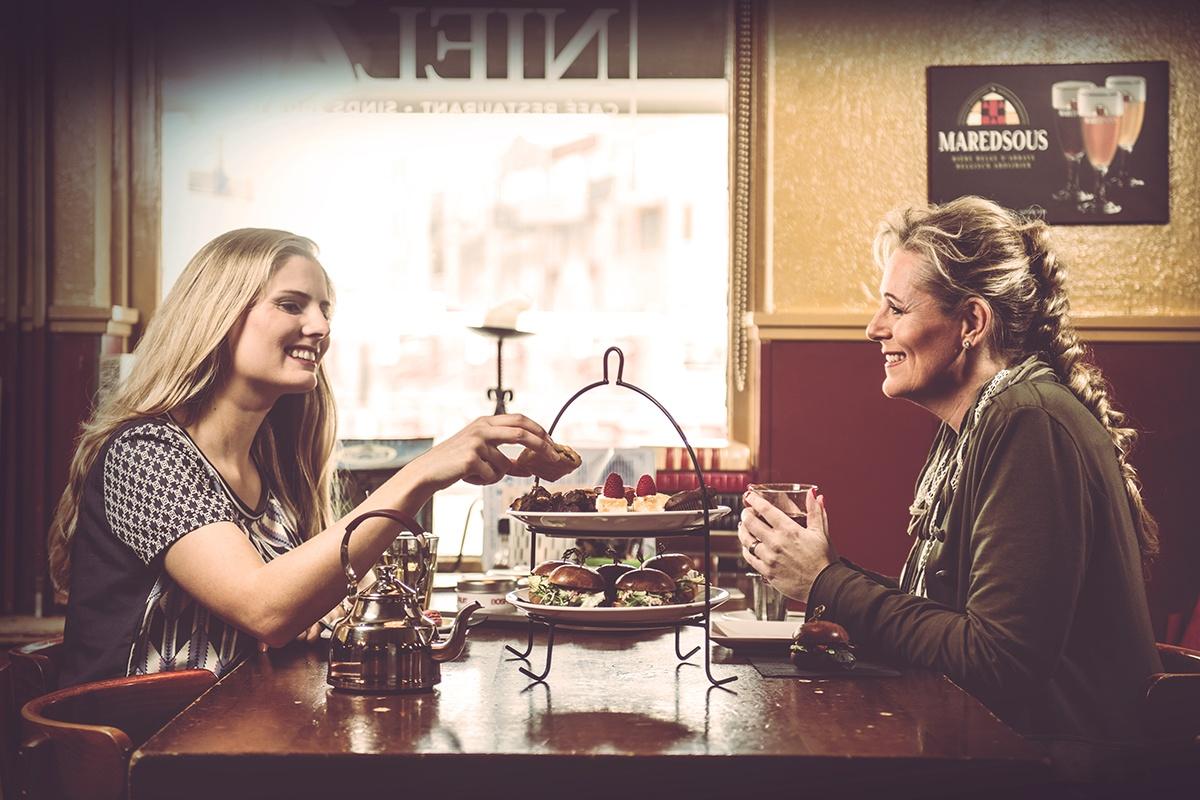 High Tea Nielz twee dames